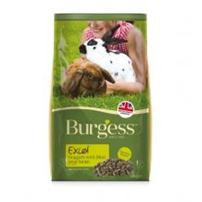 Burgess Excel Adult Rabbit Nuggets - 2kg