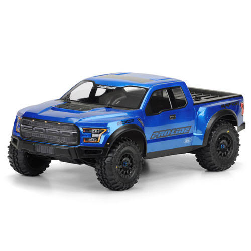 Pro-Line 2017 Ford F-150 Raptor True Scale Clear Body