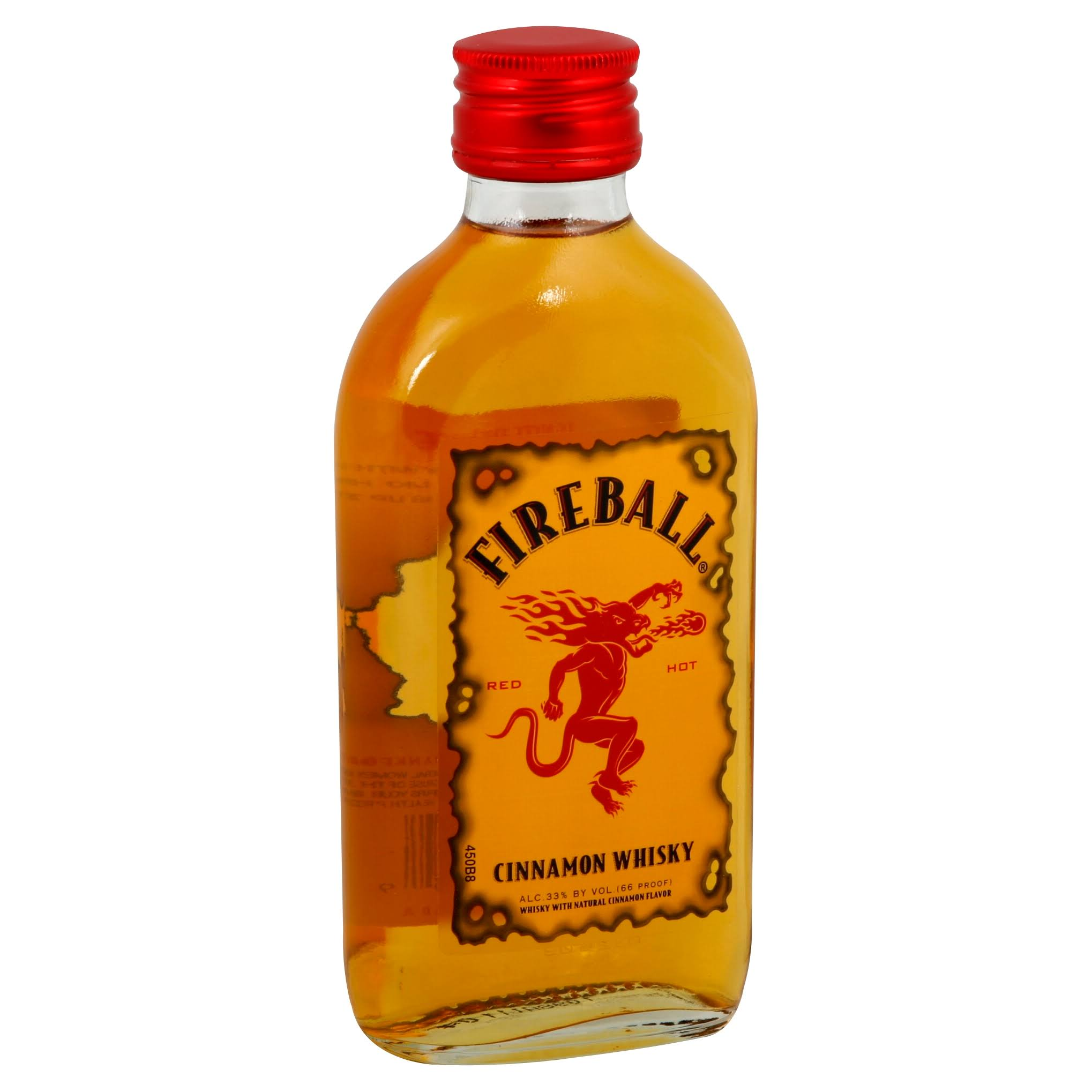 Fireball Whisky, Cinnamon - 200 ml
