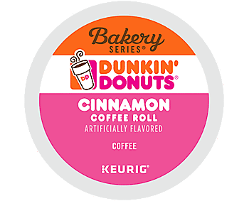 Dunkin Donuts Cinnamon K-Cup Coffee Pods, 24 Count