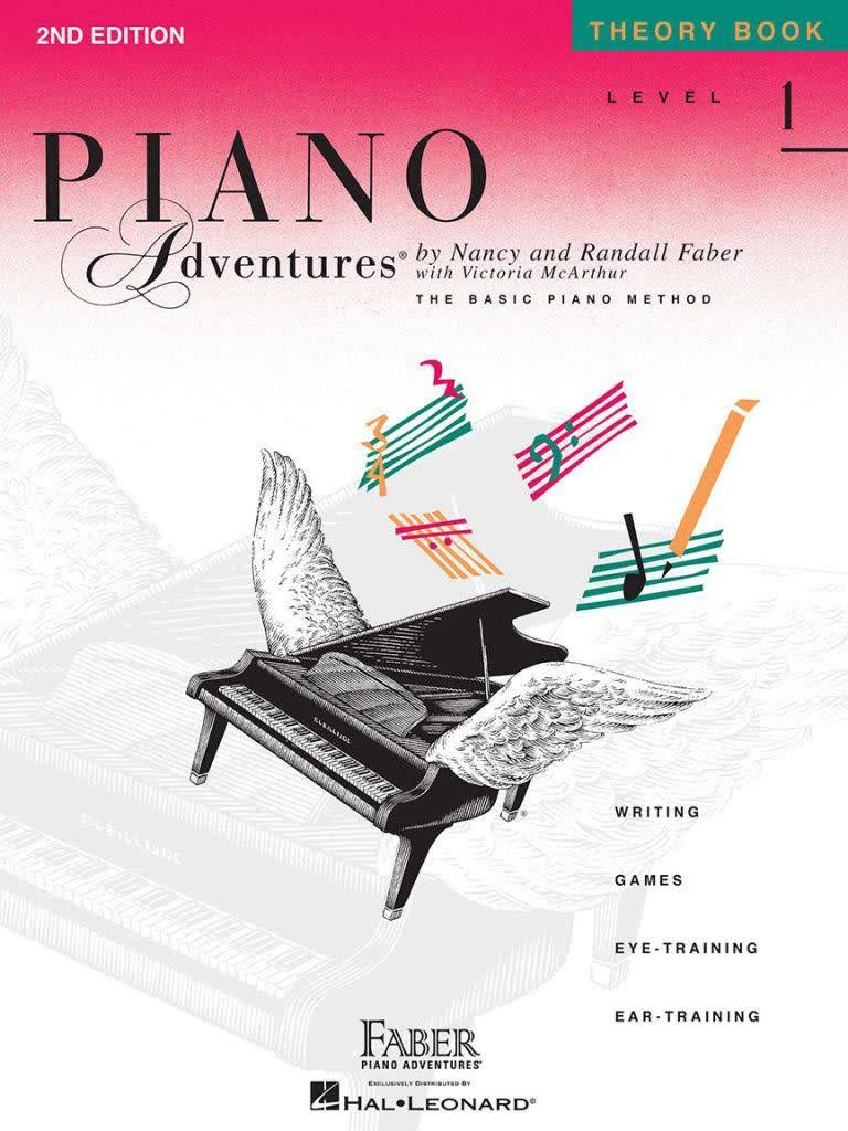 Piano Adventures Theory Book: Level 1