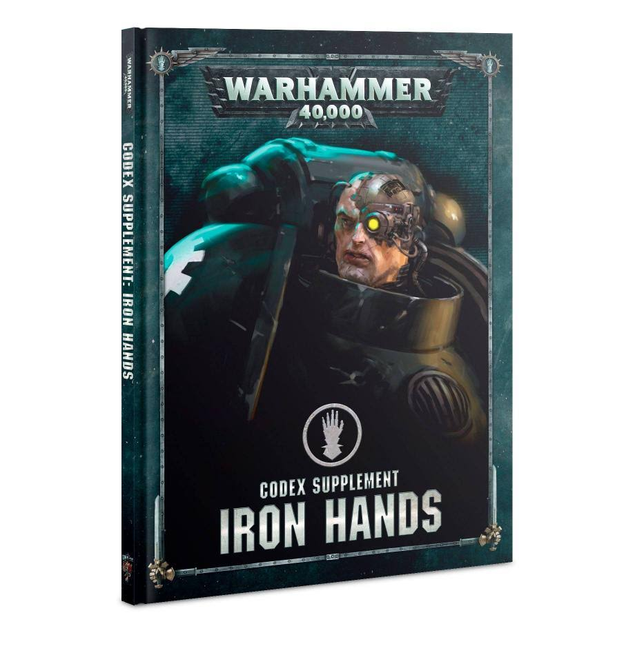 Warhammer 40K: Codex Supplement: Iron Hands - Games Workshop