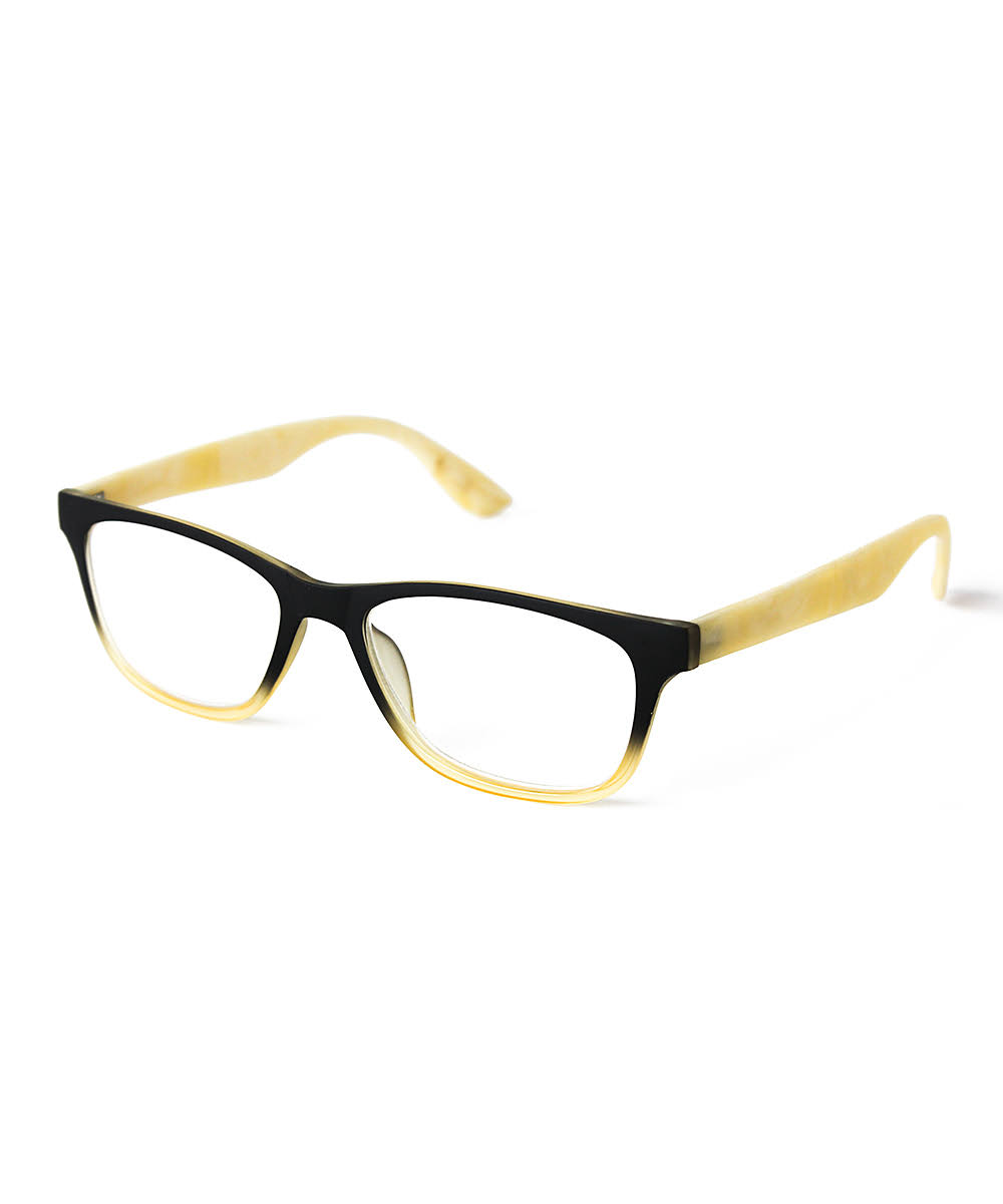 Optimum Optical Black and Tan Reader 3.00