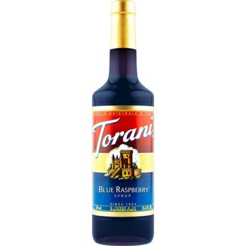 Torani Blue Raspberry Syrup - 25.4oz