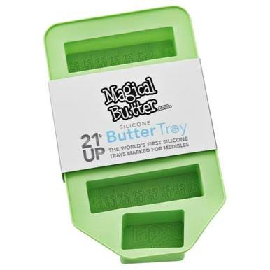 Magical Butter 21 Up Silicone Butter Tray - Green