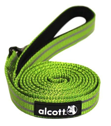 Alcott Essential Adventure Dog Collar - Large, Green