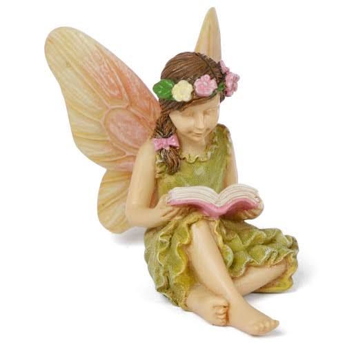 Miniature Fairy Garden A Good Read Fairy Girl
