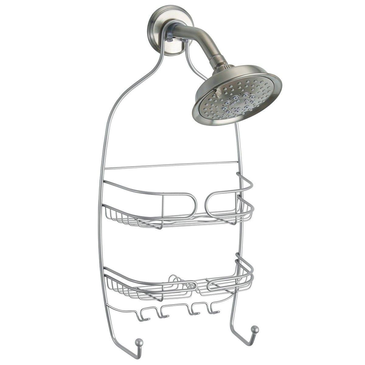 Interdesign 27910 Neo Shower Caddy - Silver