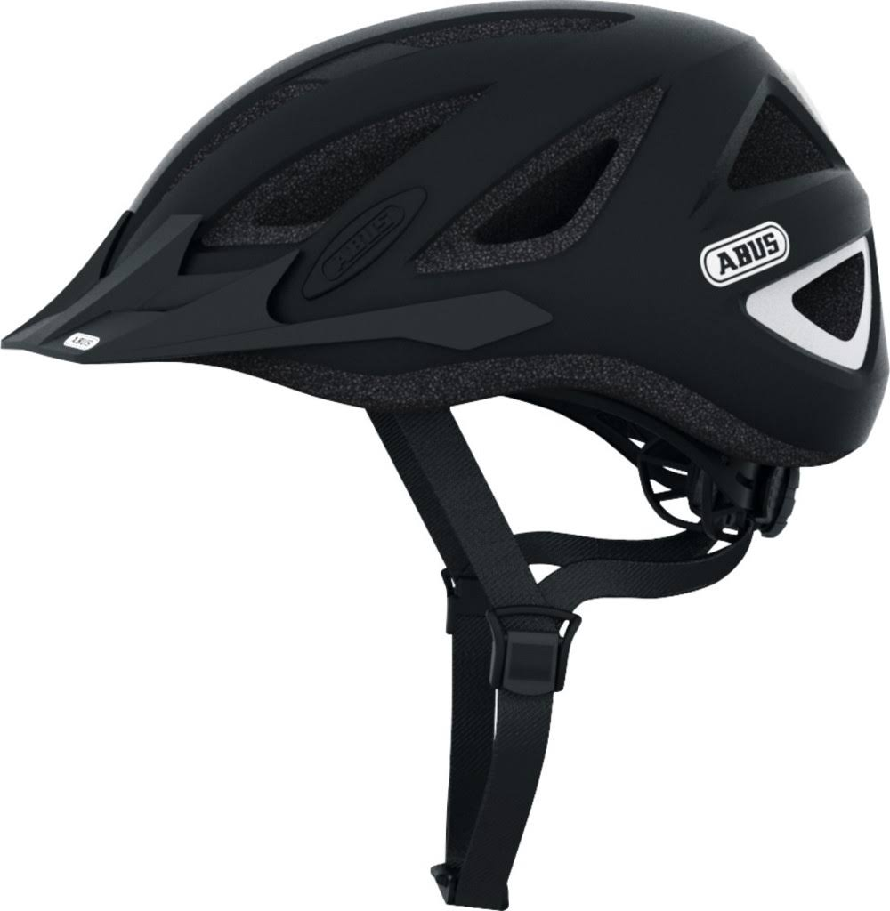 Abus Urban I Series V2 MTB Road Bike Cycling Helmet - Velvet Black, Large