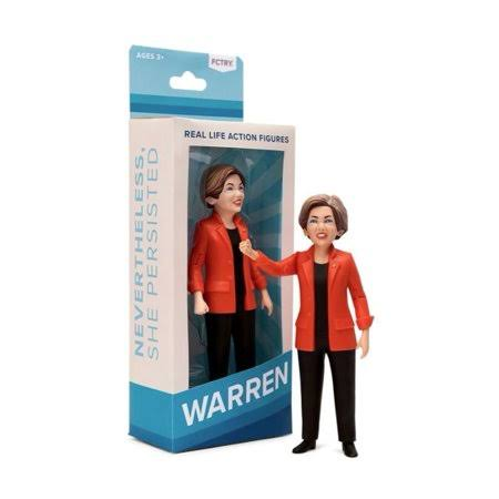 Fctry Elizabeth Warren Real Life Action Figure