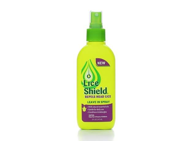 Lice Shield Leave in Spray Repels Head Lice - 5oz