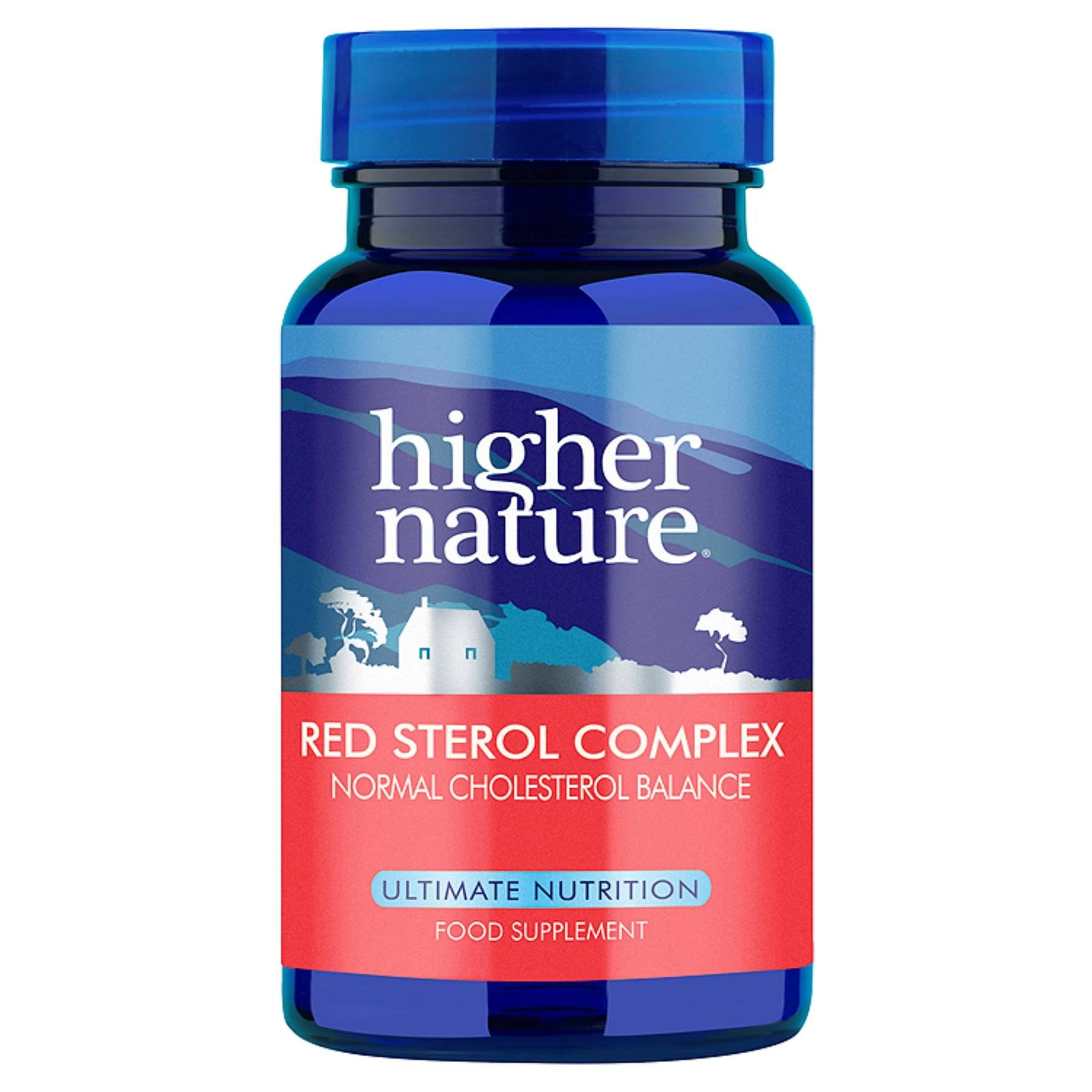 Higher Nature Red Sterol Complex Supplement - 90 Pack