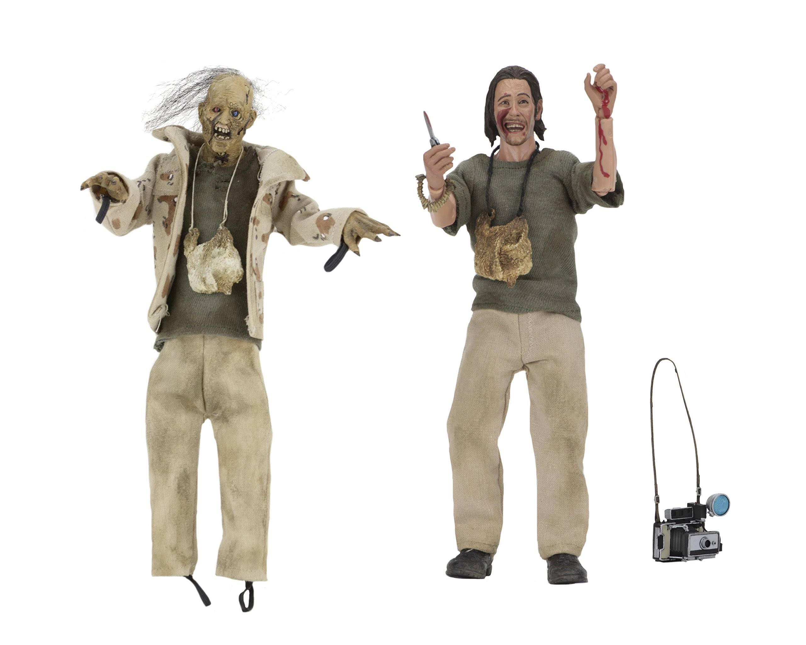 Texas Chainsaw Massacre 8 inch Action Figure Clothed Series - Nubbins Sawyer Set