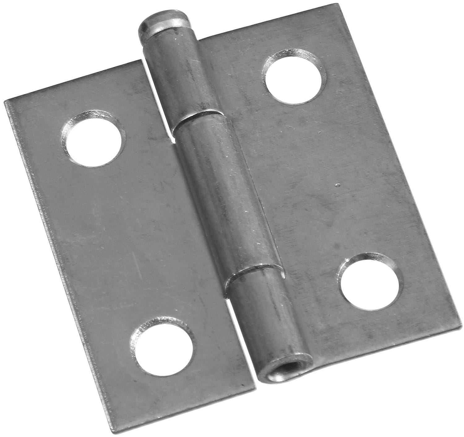 Stanley N141-739 Zinc Light Narrow Hinge - 3.8cm X 3.7cm