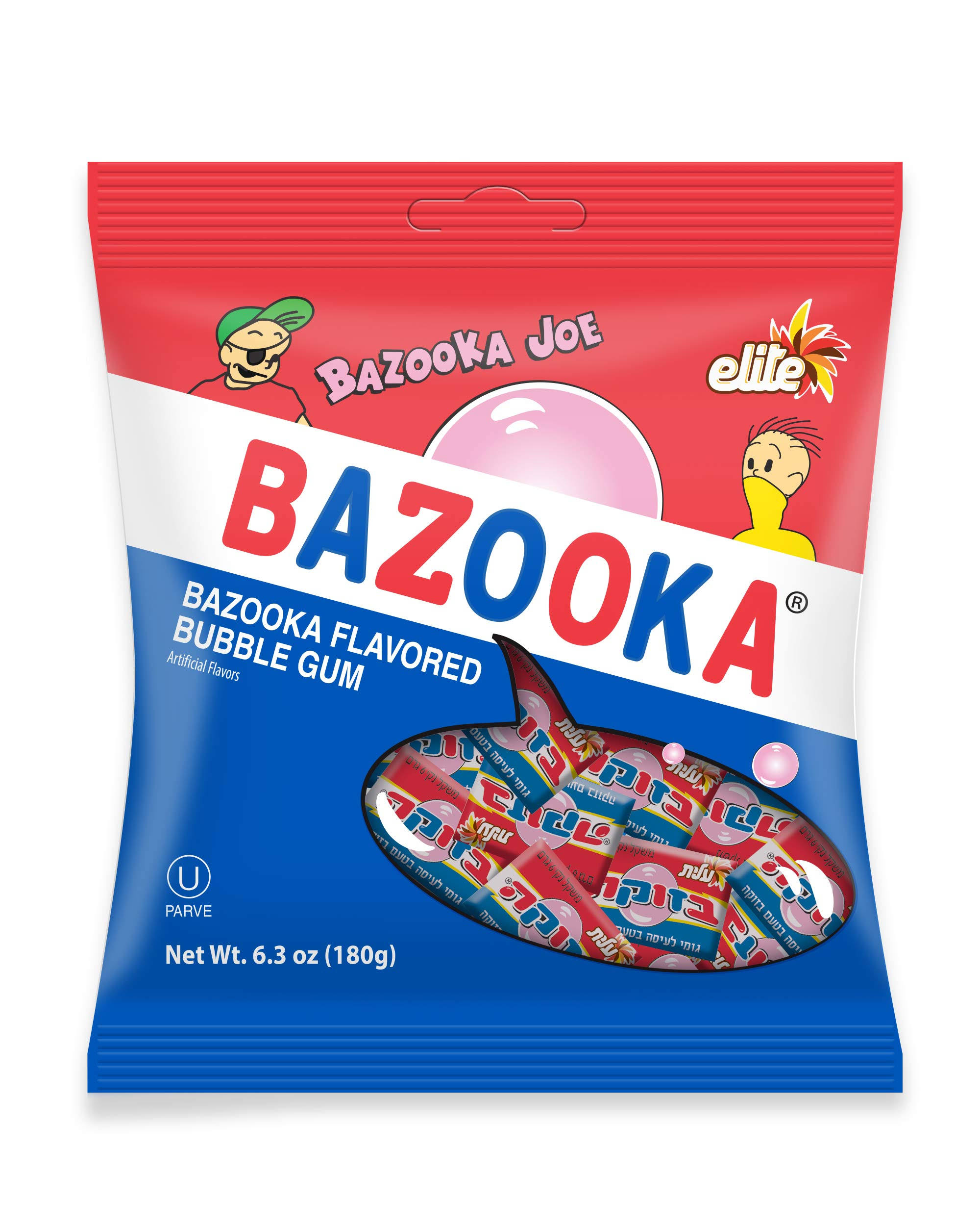 Strauss Elite Bazooka Joe Gum Bazooka Flavored
