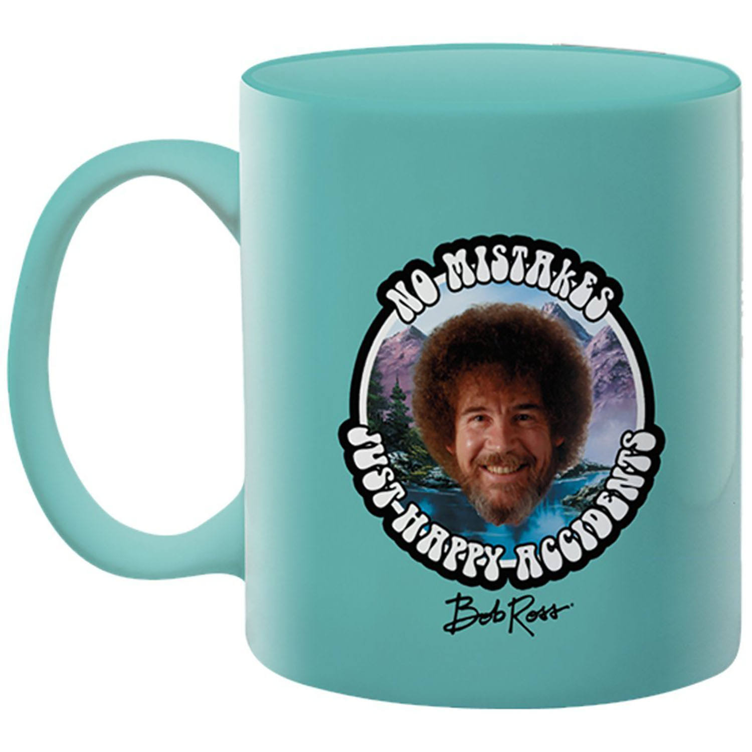 Bob Ross No Mistakes 11 oz Mug