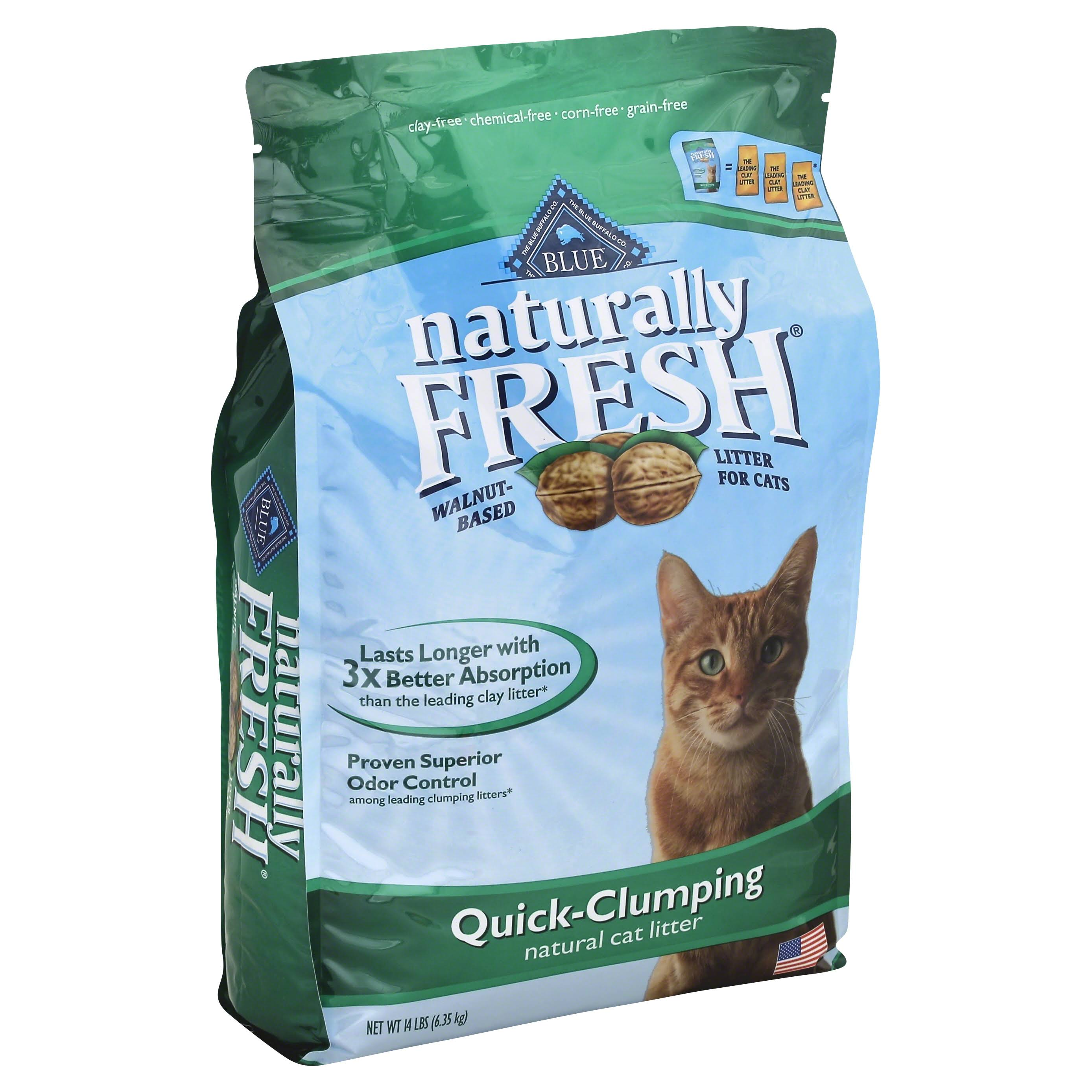 Blue Naturally Fresh Quick Clumping Cat Litter - 14 lbs