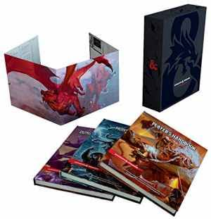 Dungeons & Dragons Core Rulebooks Gift Set (Special Foil Covers Edition with Slipcase, Player's Handbook, Dungeon Master's Guide, Monster Manual, DM Screen) [Book]