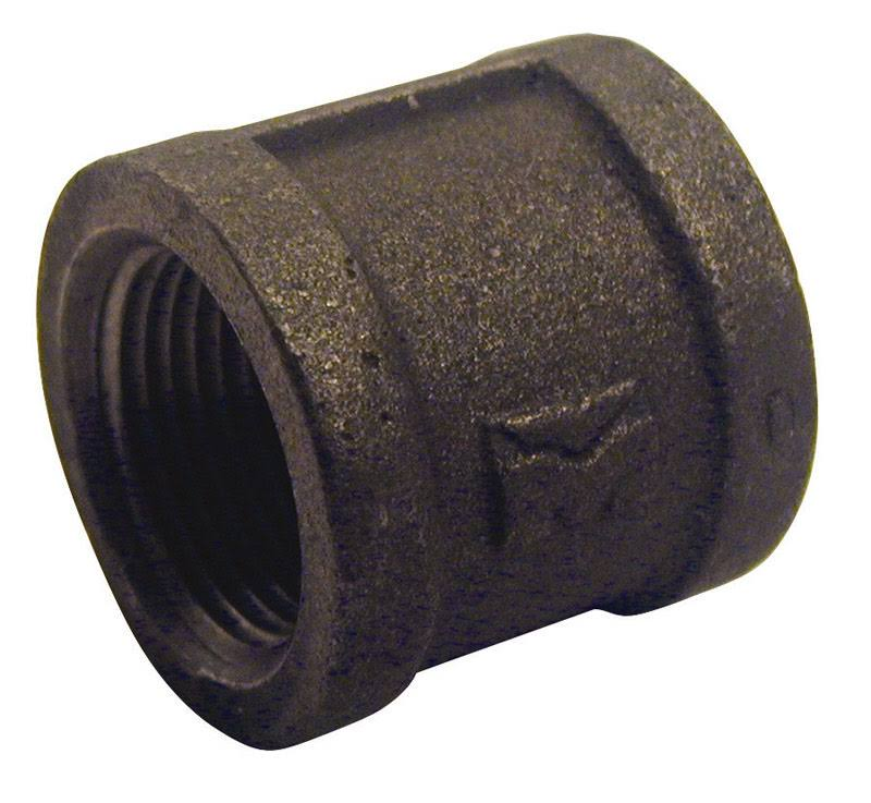 "Pannext Fittings Corp Right Hand Coupling - 2"", Black"