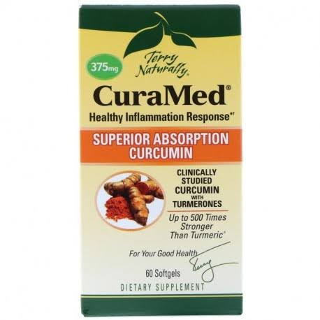 Terry Naturally Curamed - 375mg, 60 Softgels