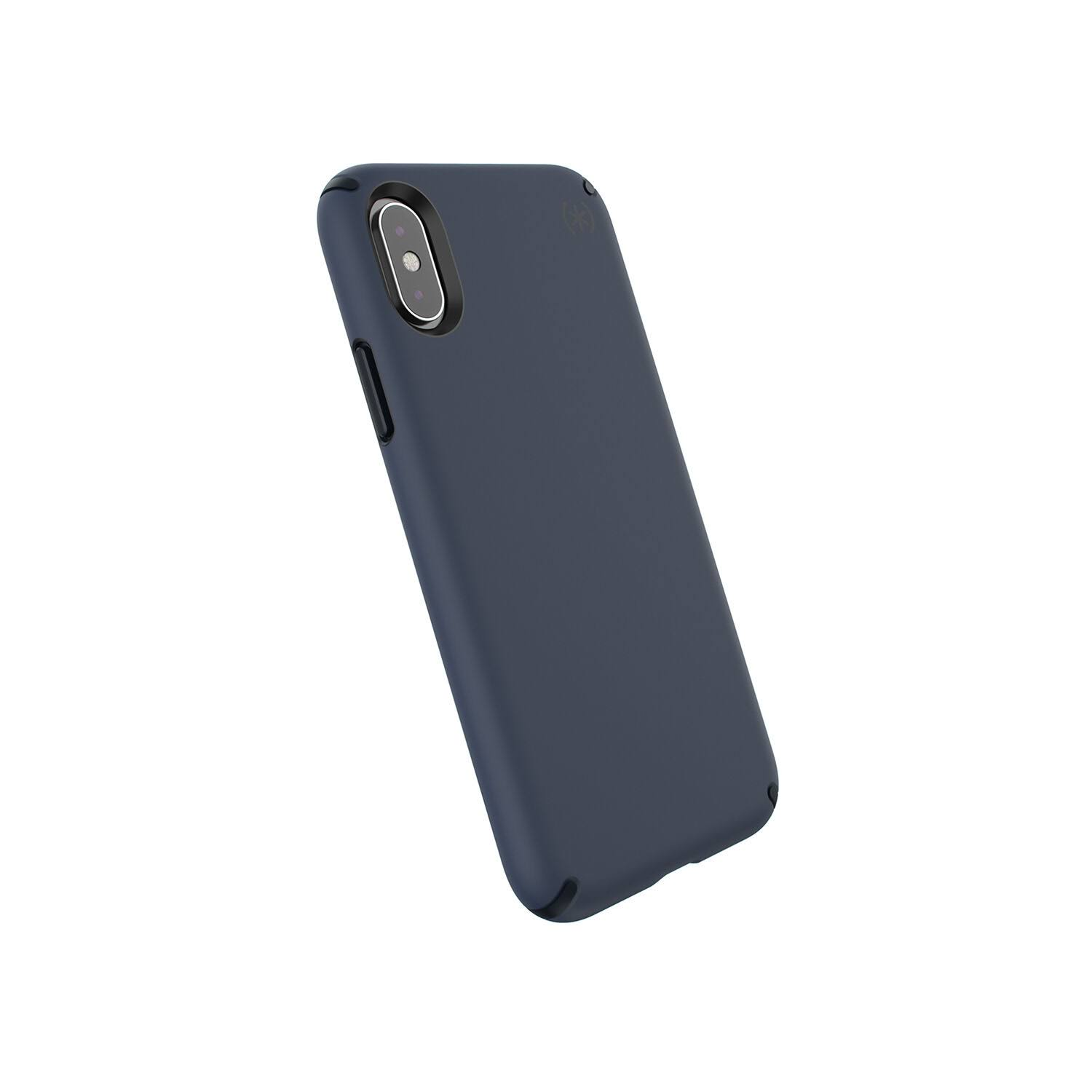Speck Apple Iphone XS X Presidio Pro Case - Eclipse Blue and Carbon Black
