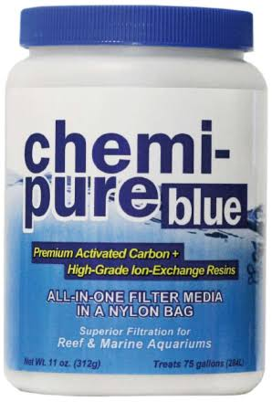 Boyd Enterprises Chemi-Pure Filtration Media for Aquarium - 11oz, Blue
