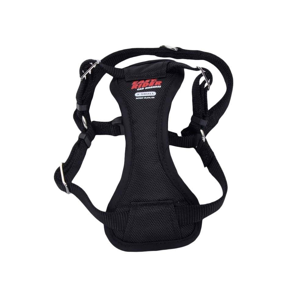 Easy Rider Car Harness for Dogs - Black, X-Small