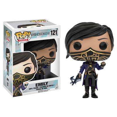 Funko Pop! Games Dishonored 2 Vinyl Action Figurine - Emily, 10cm