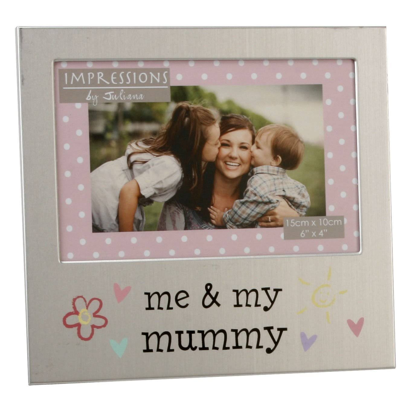 Juliana 4x6 Inch Me & My Mummy Aluminium Photo Frame