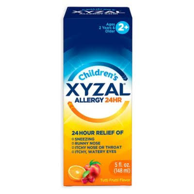 Xyzal Children's Oral Solution - 148ml