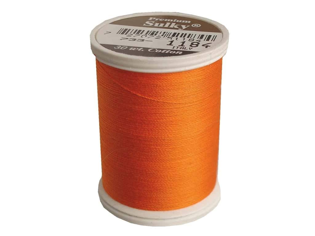 Sulky Cotton Thread 30WT - Orange Red
