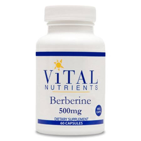 Vital Nutrients Berberine Supplements - 60ct