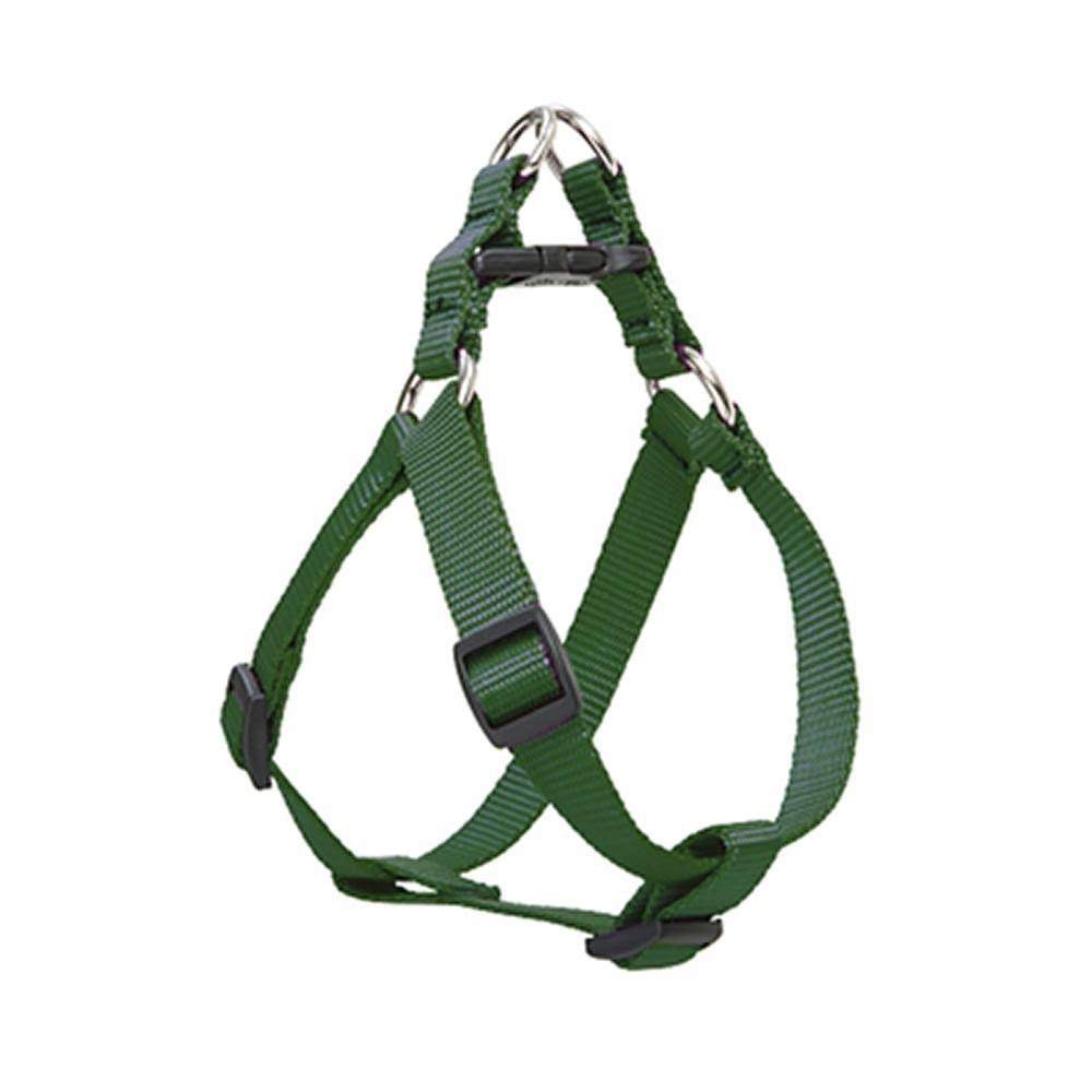 "Lupine Step-in Medium Dog Harness - 3/4"" x 20cm to 30cm, Green"