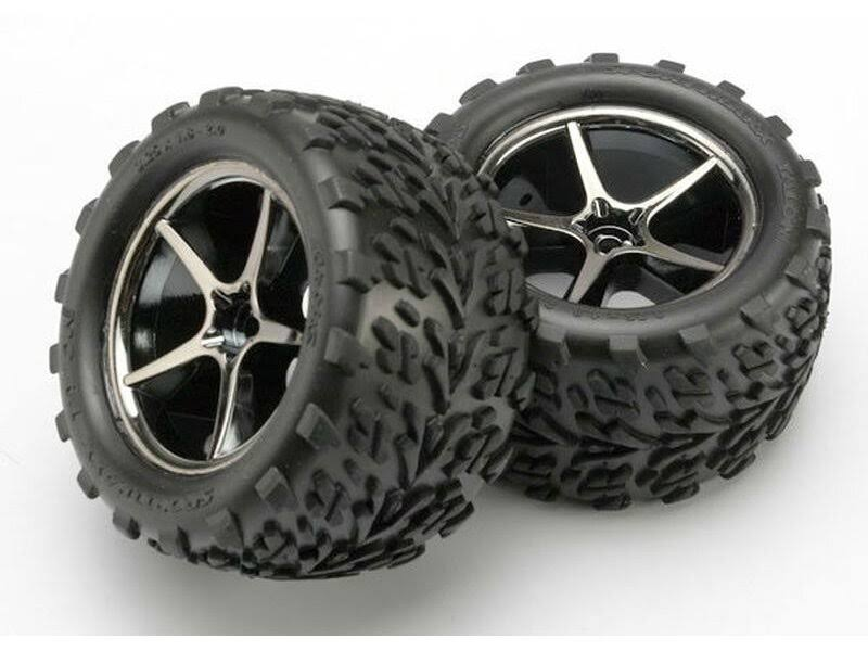Traxxas Talon Tires Assembled on Gemini Wheels - 1 Pair