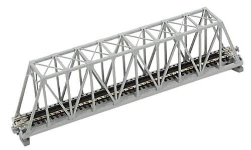 Kato Single Truss Bridge - Gray, 9 3/4""