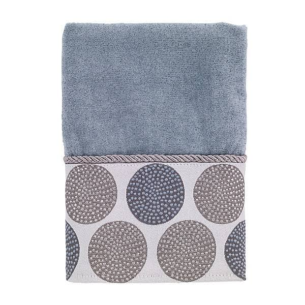 Avanti Dotted Circles Hand Towel - Mineral