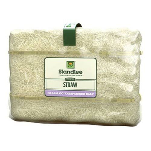 Standlee Hay Grab-N-Go Compressed Forage - Straw, 50lb, Bale