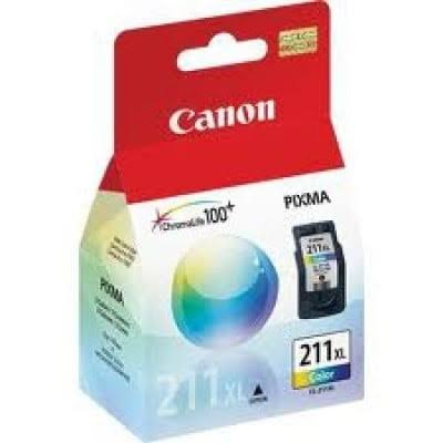 Canon 211 XL Color Ink Cartridge, Pink