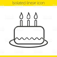Cake Decorating Books Free by Birthday Cake Icon Stock Vector Art 618190872 Istock
