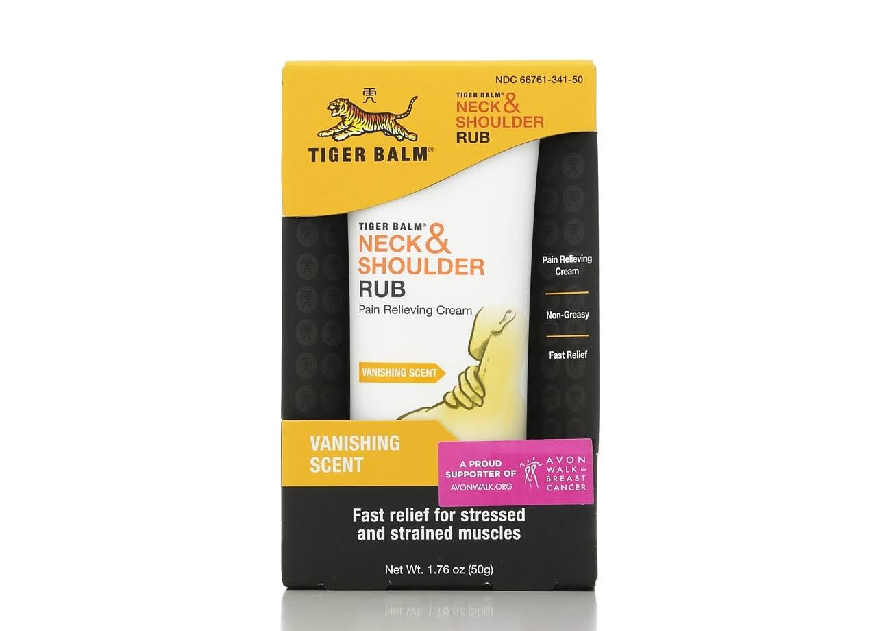 Tiger Balm Neck & Shoulder Pain Relieving Cream - 1.76oz