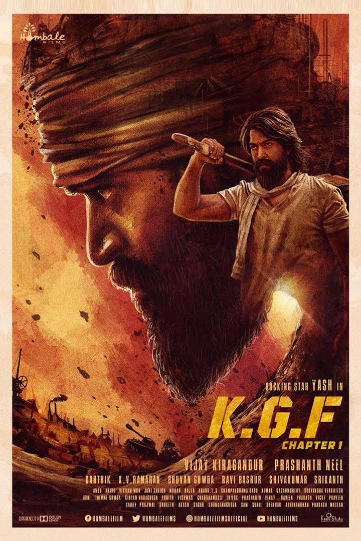 K.G.F: Chapter 1 (2018) [Hindi(Cleaned)+Tamil+Telegu]HQ PreDVD 480p HQ Audiox264 -500 MB