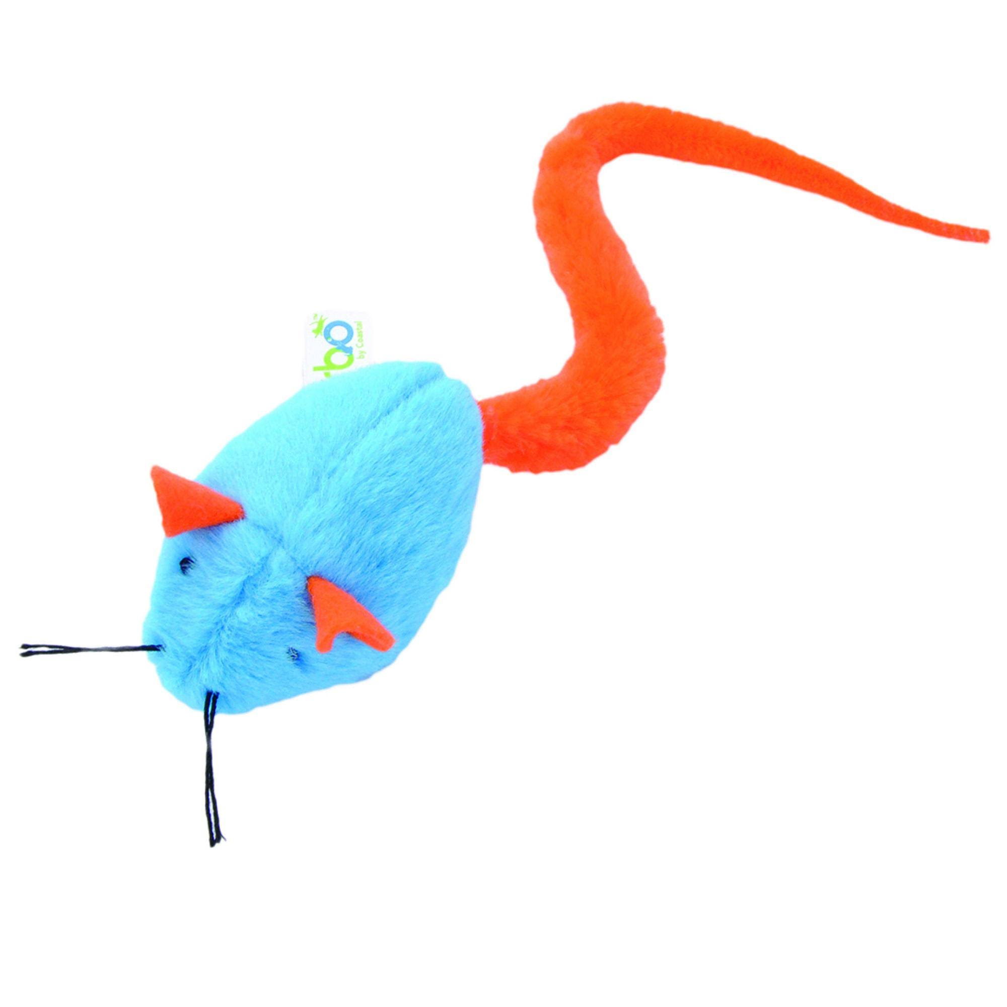 Turbo Tail Cat Toy, Rattle Mouse