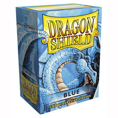 Dragon Shield Standard Deck Sleeves - Blue, 100pk