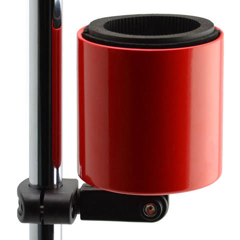 Kroozie Cups Deluxe Bicycle Beverage Holder Red