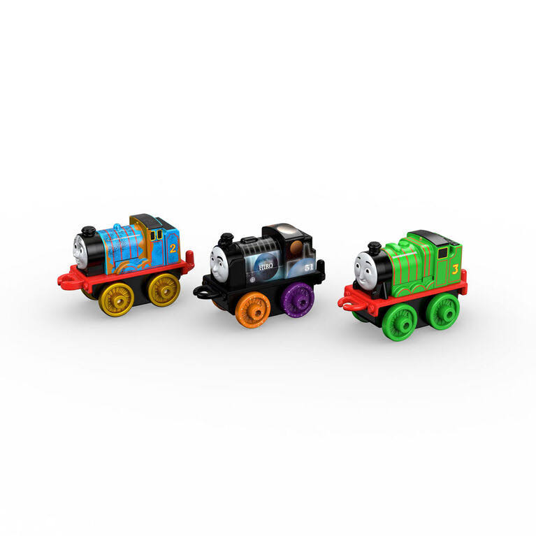 Fisher-Price Minis #9 Thomas and Friends Toy Trains (3 Pack)