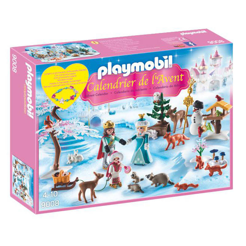 Playmobil Advent Calendar Ice Princess Life With Animals