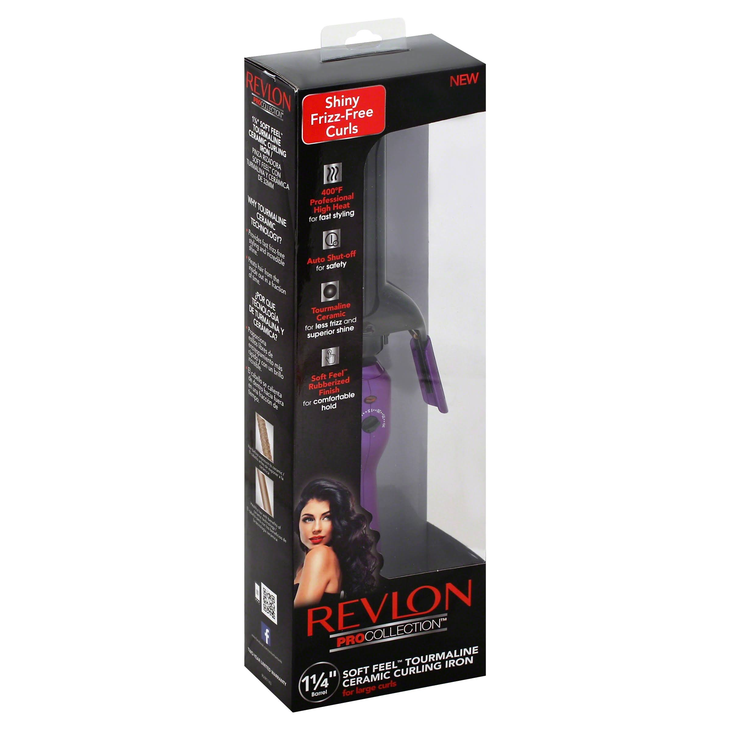 Revlon Tourmaline Ceramic Curling Iron - 1-1/4in