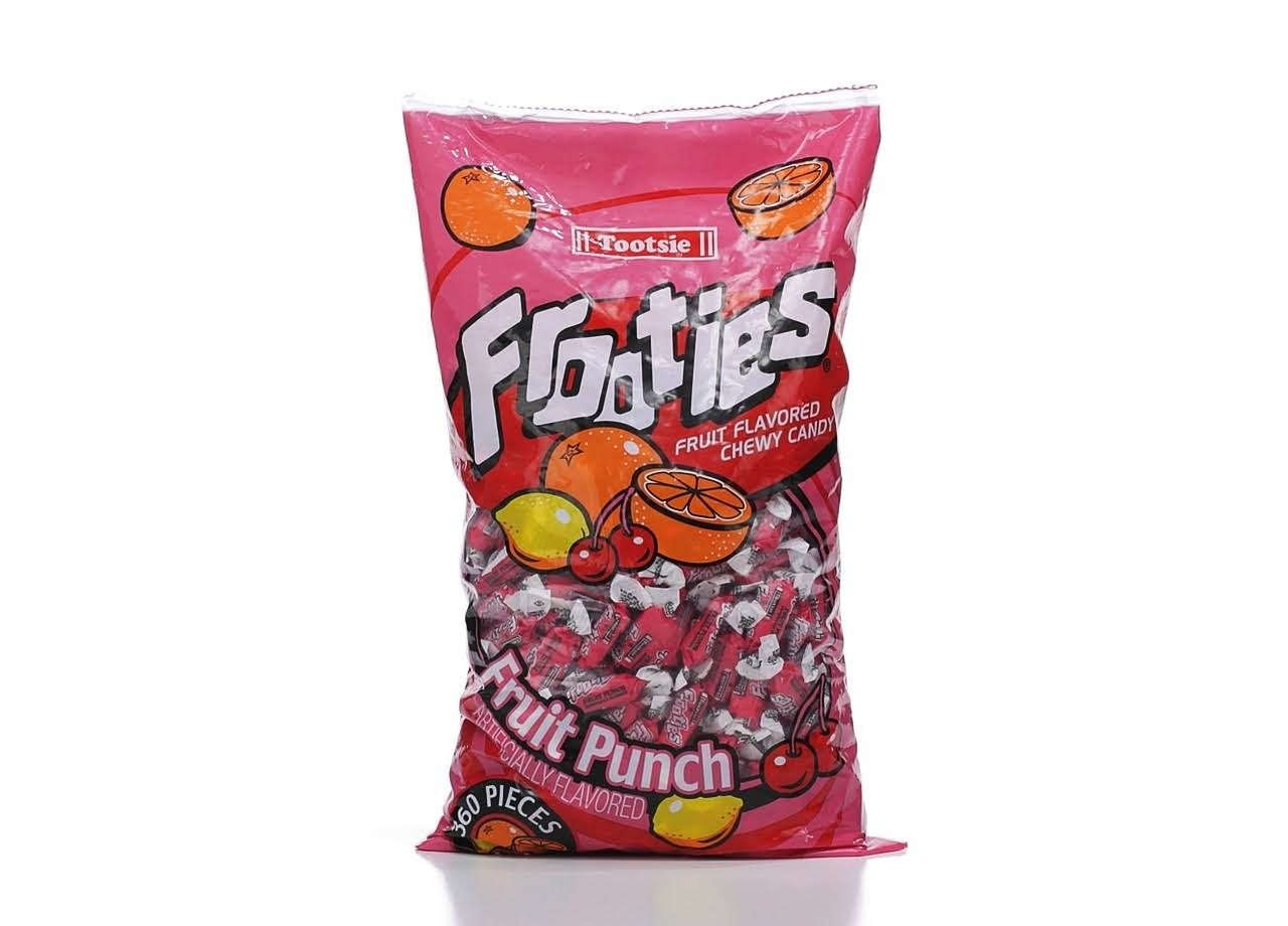 Tootsie Roll Frooties Chewy Candy - Fruit Punch, 360pcs Bag