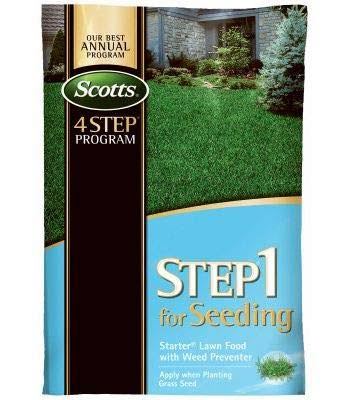 Scotts 36905 Lawnpro Step 1 for Seeding Starter Lawn Food - with Preventer