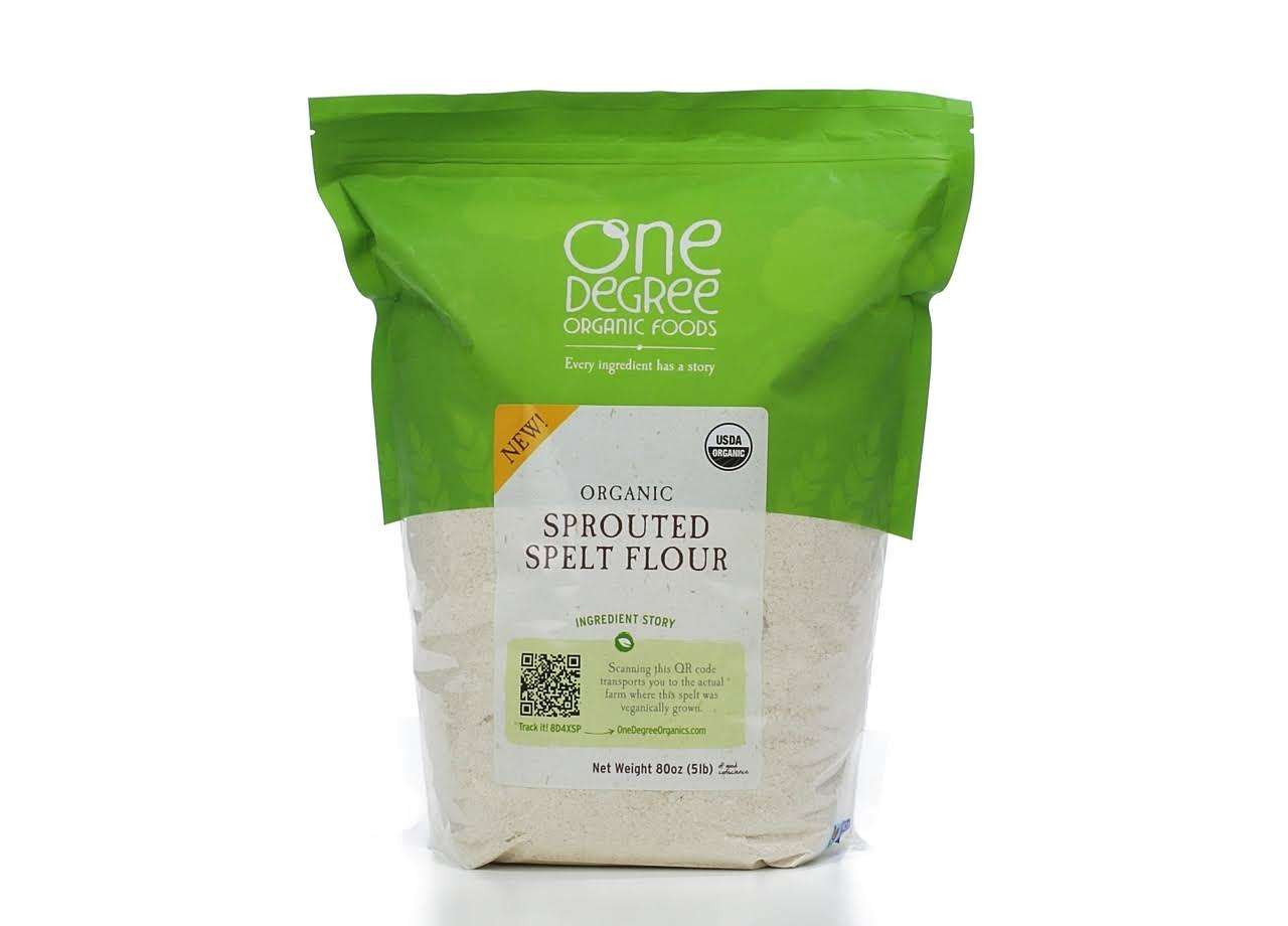 One Degree Organic Sprouted Spelt Flour - 80oz
